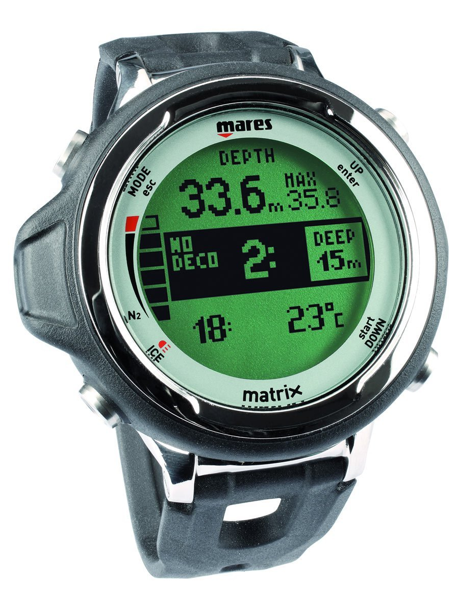 Mares Matrix Dive Computer with PC Download Kit