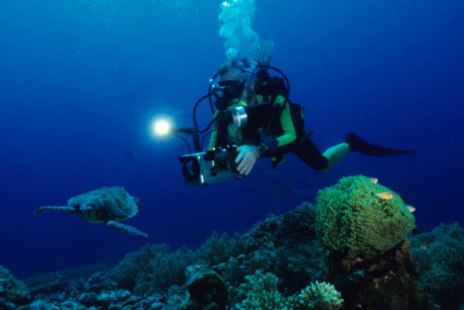 DIVING PHOTOGRAPHY EQUIPMEN